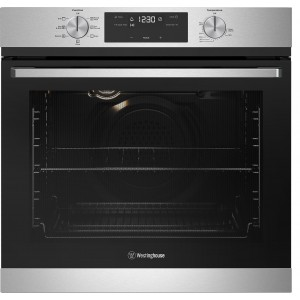 Westinghouse 60cm 80L Electric Wall Oven WVE615SC