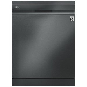LG 60cm QuadWash Matte Black Freestanding Dishwasher XD3A15MB