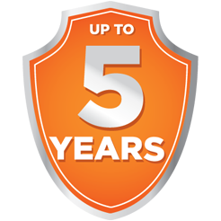 Bonus 5 Years Warranty